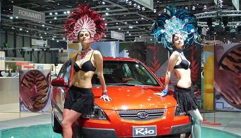 Geneva auto show 2006