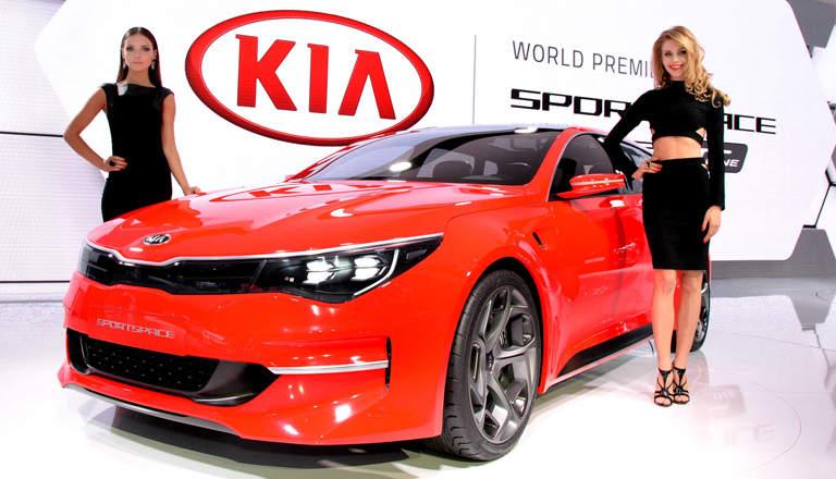 Motor Show Kia Motors Hong Kong 2015