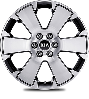 18˝ Alloy Wheel (Machine finish)