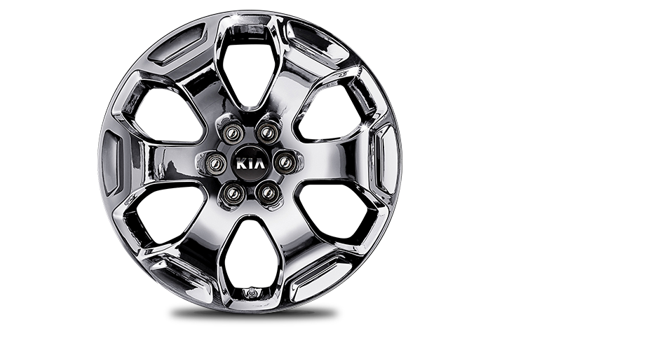 18˝ Alloy Wheel (Chrome sputtering)