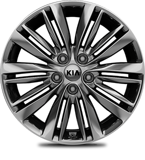 CHROME SPUTTERING ALLOY WHEEL