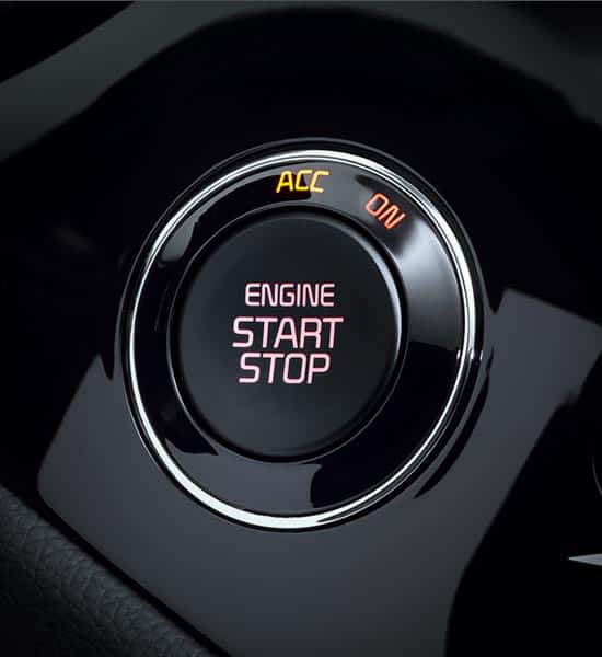 Engine start/stop button and smart key