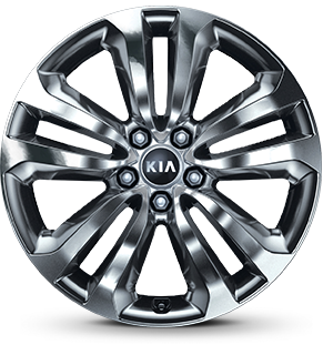 "19"" Alloy Wheel (Chrome Sputtering)"