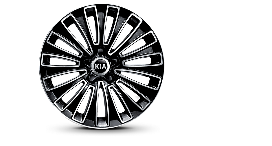 18-inch Alloy Wheel-A <br>(for non GCC countries)