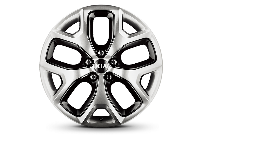 Alloy wheel (Optional on EX)