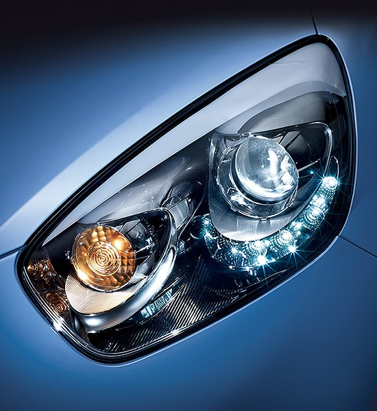 HEADLAMPS WITH LED DAYTIME RUNNING LIGHTS