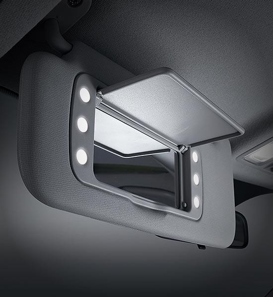 SUNVISOR ILLUMINATION LAMP