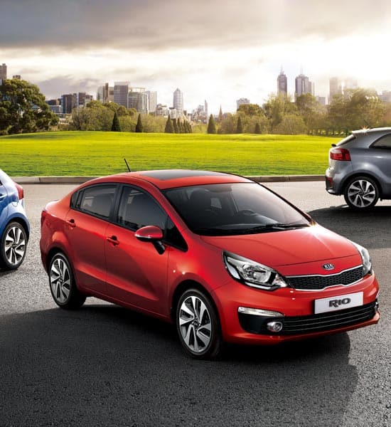 Kia Rio 4 Door Gallery  4 Door Sedan  Kia Motors Kuwait
