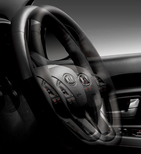 Telescopic steering wheel