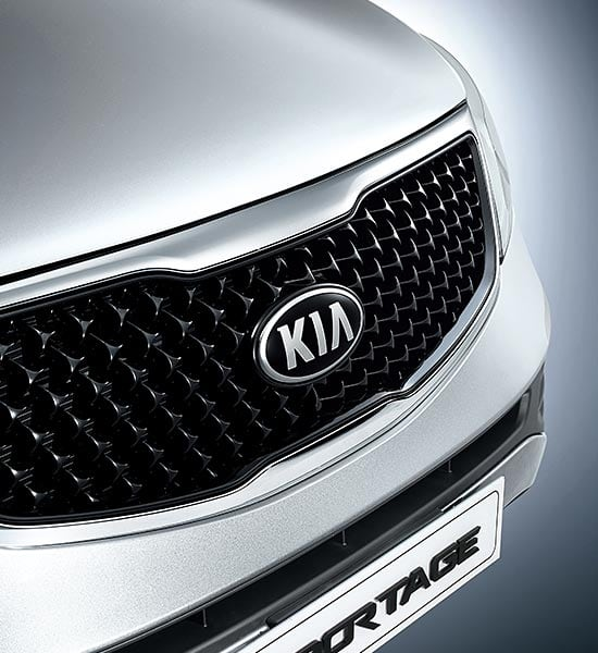 NEW KIA GRILLE DESIGN