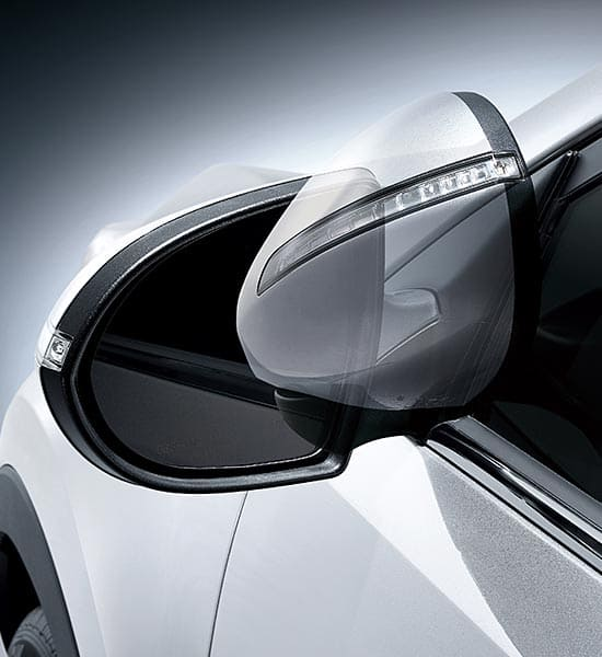 GULL-WING FOLDING HEATED OUTSIDE MIRRORS