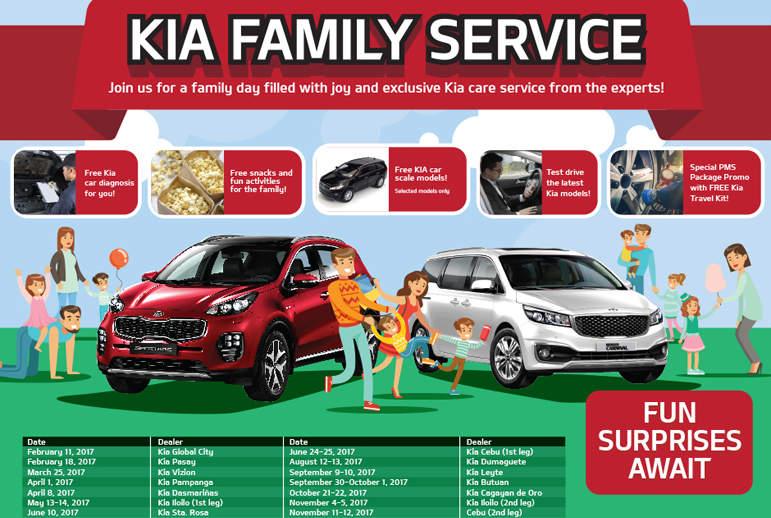 Kia motors philippines contact number for Family motors auto repair
