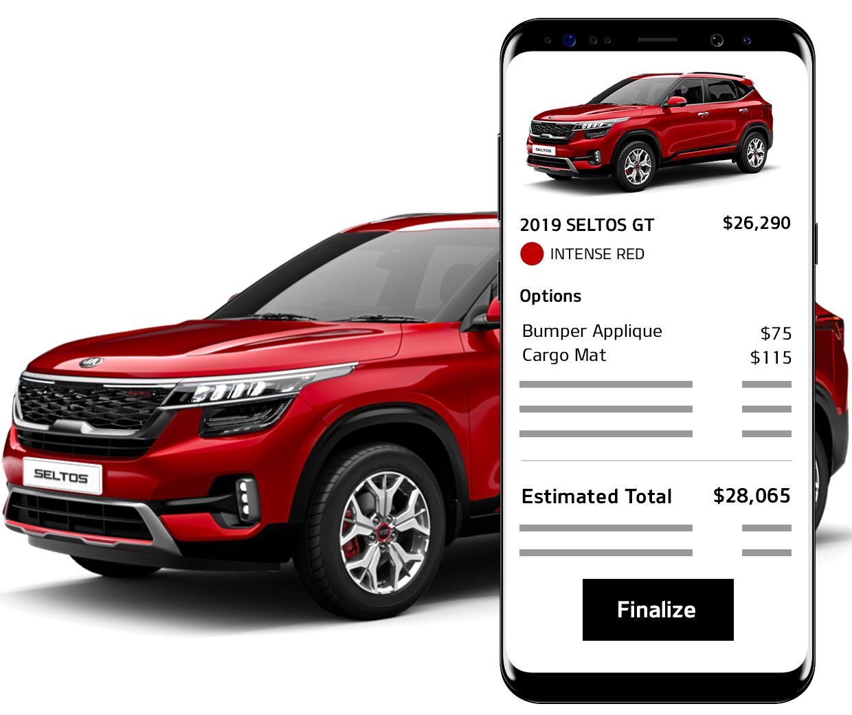 Finalize Your Kia Car Purchase