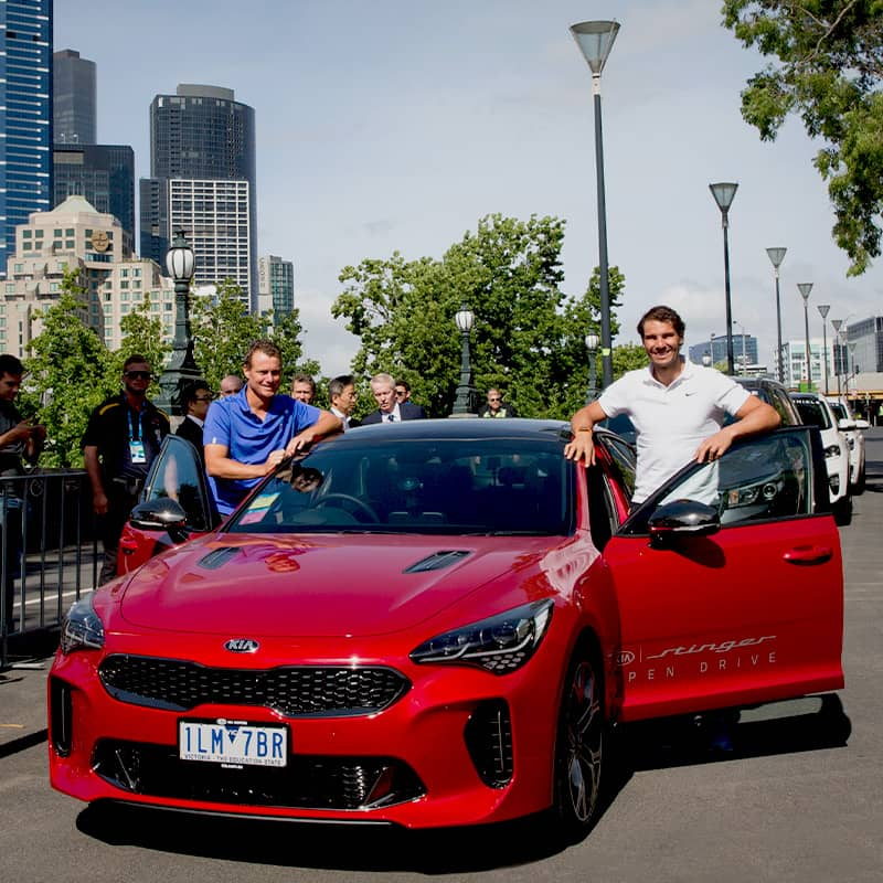kias-stinger-and-suvs-delivered-for-australian-open-2018