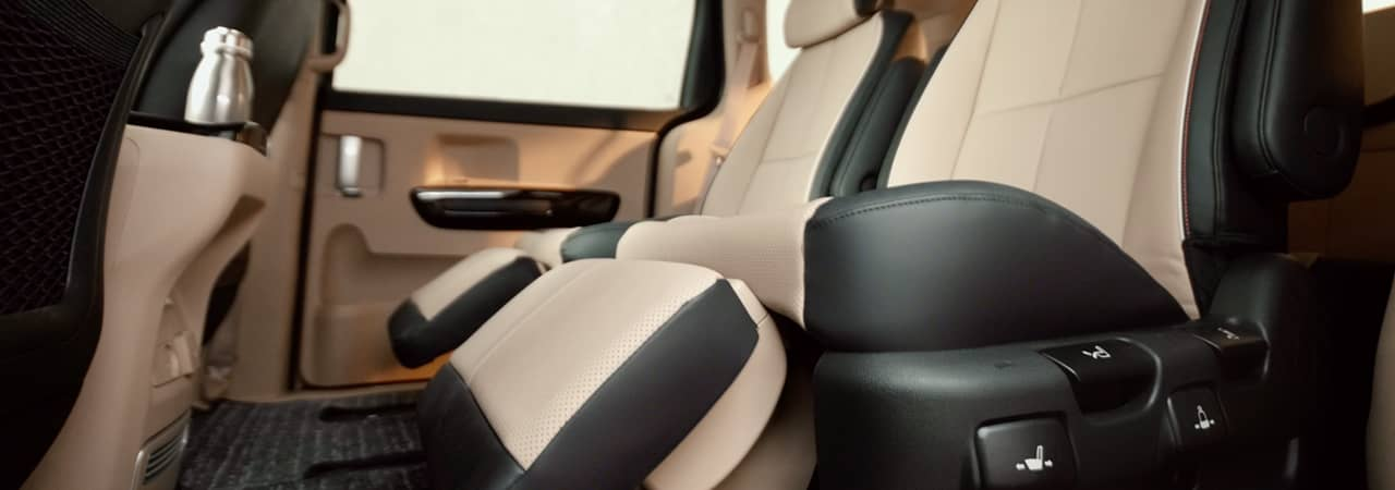 Nappa Leather Seats for ultimate comfort.