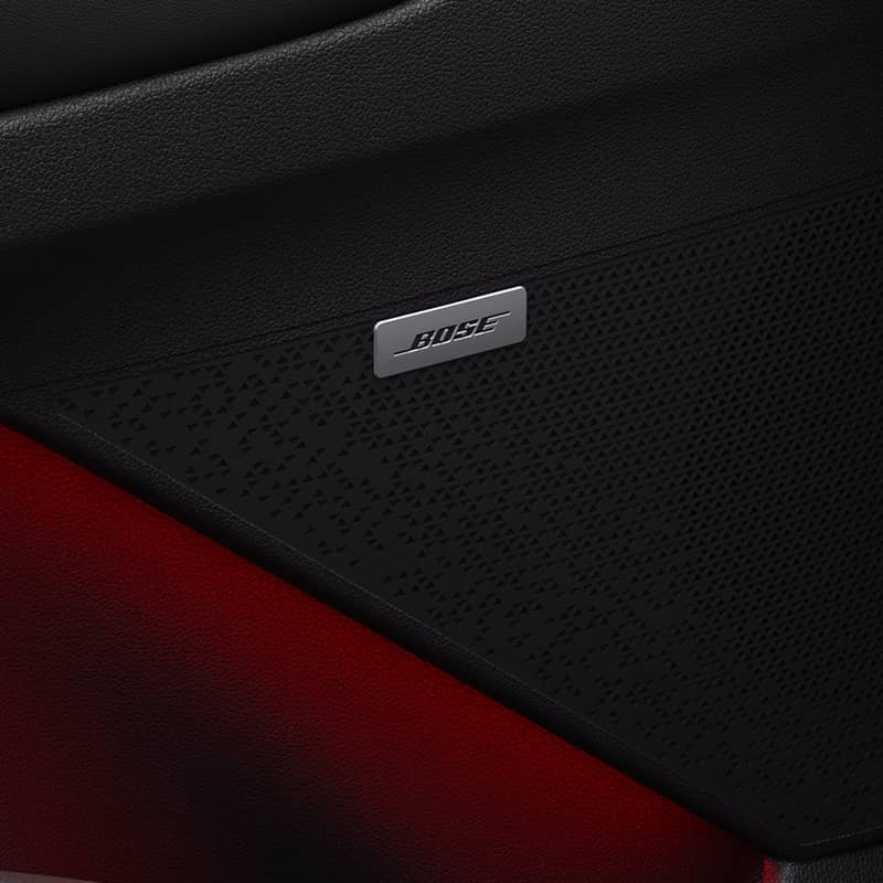 Bose Premium Sound System with 7 Speakers