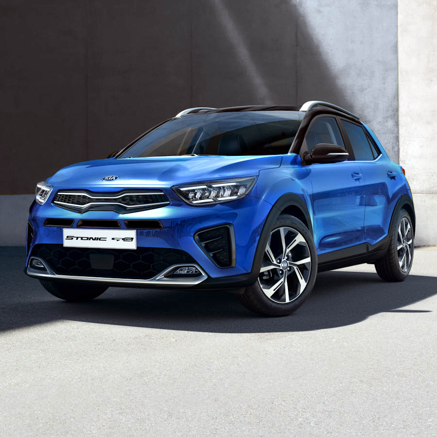 Kia compact light suv Stonic