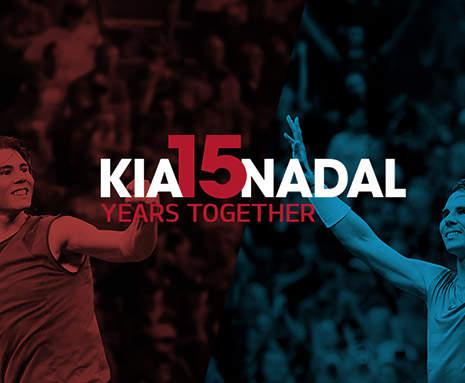 Rafael Nadal Kia Sponsorship Kia Motors Hong Kong