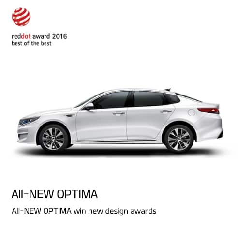 All-NEW OPTIMA sin new design awards