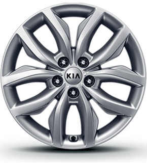 Alloy wheel (Clear Silver)