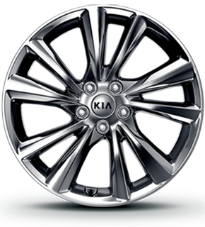 Alloy wheel (Chrome Sputtering)
