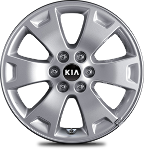 "215 / 55R 17"" Silver Alloy Wheel"