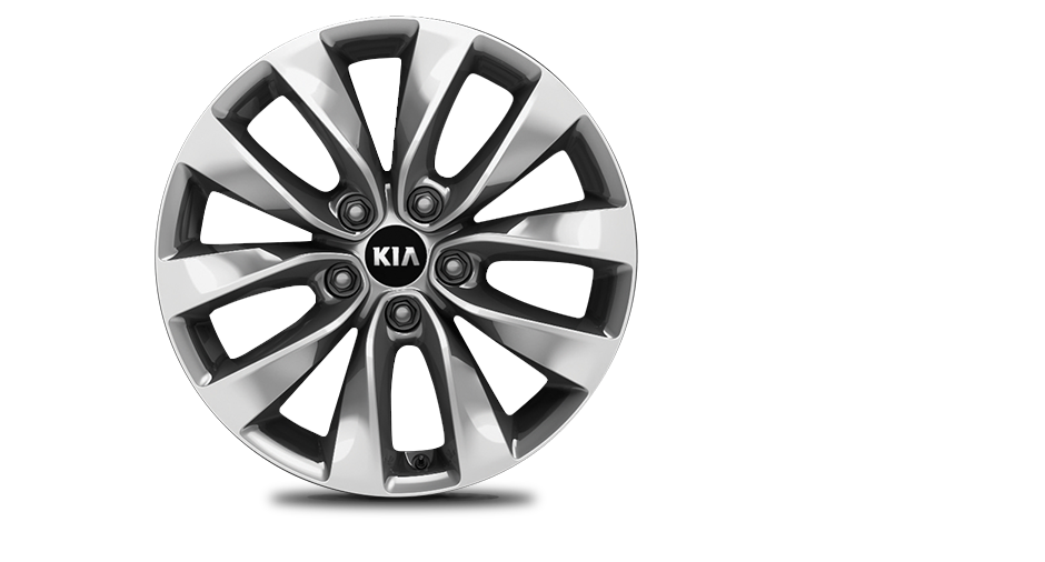 Silver Alloy Wheel