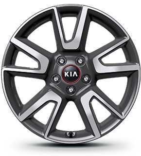 Alloy wheel (for GT Line only)