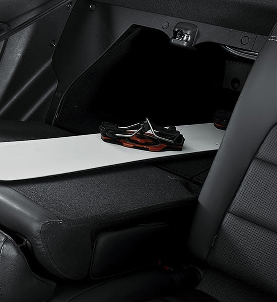 60:40 split-folding rear seats