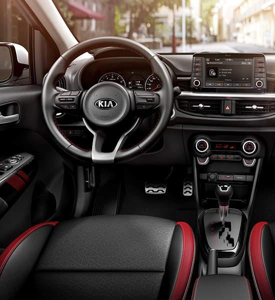 2017 Kia Rio Interior: Kia Motors Philippines