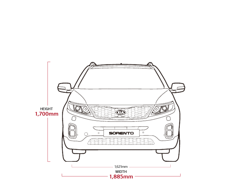 Kia Soul Commercial >> Sorento Specs | SUV & MPV | Kia Motors British Dominica