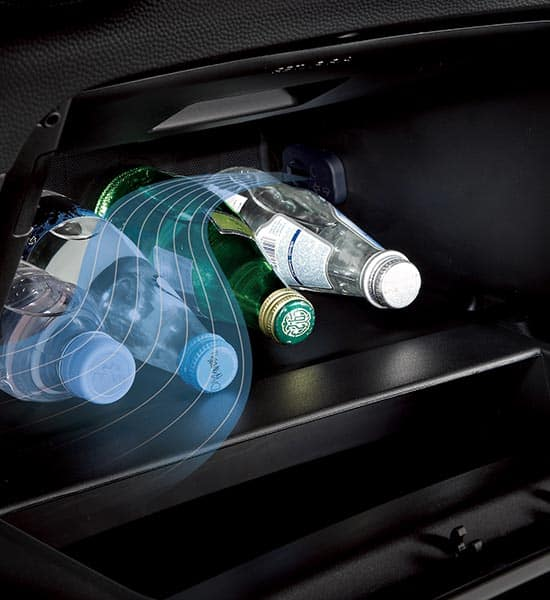 Cooling glove box