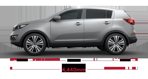 Kia Soul Commercial >> Sportage Specs | 5 Seater SUV | Kia Motors Laos