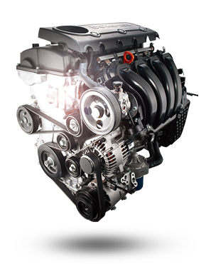 1.6L GDI Engine, 6-speed A/T, 2WD