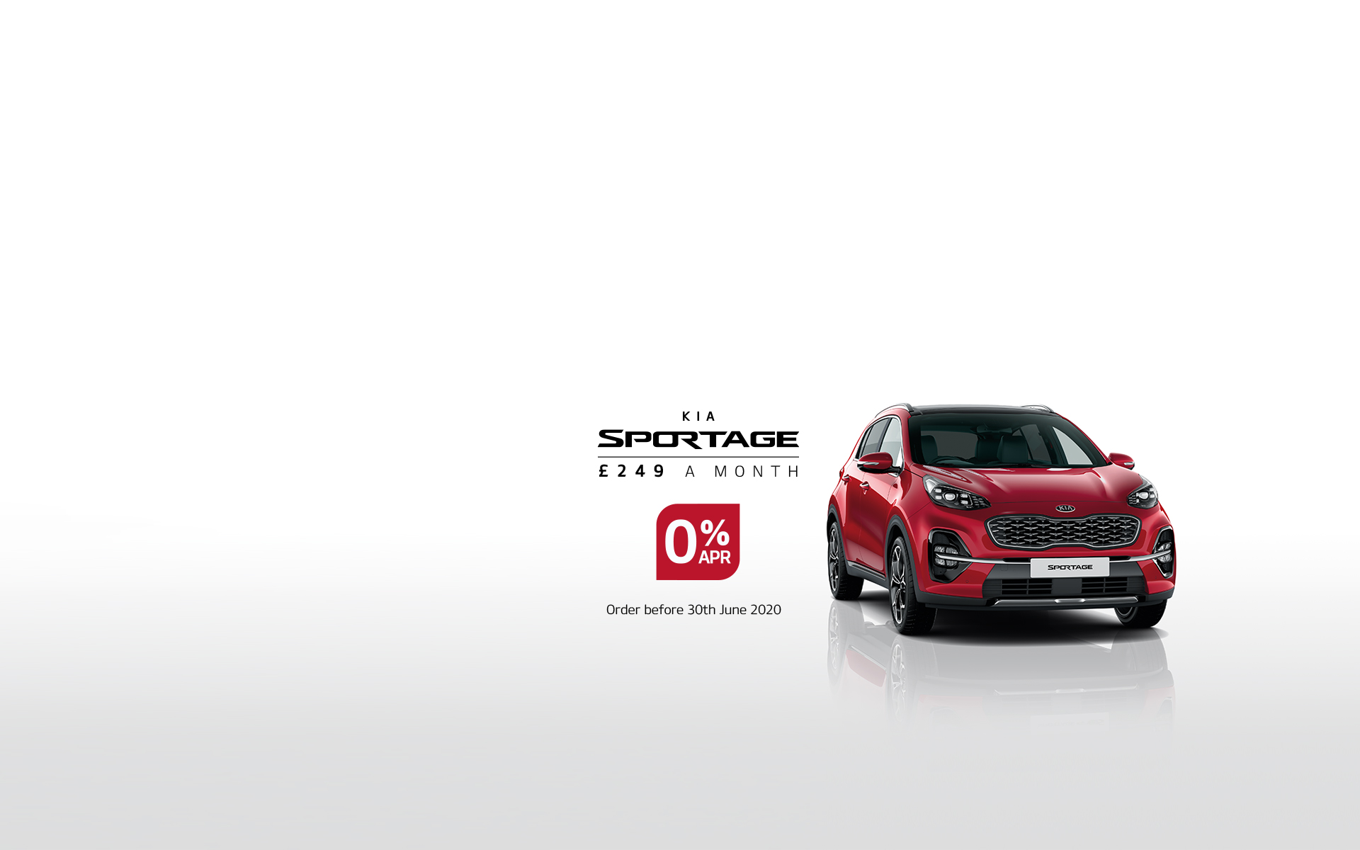 sportage zero interest