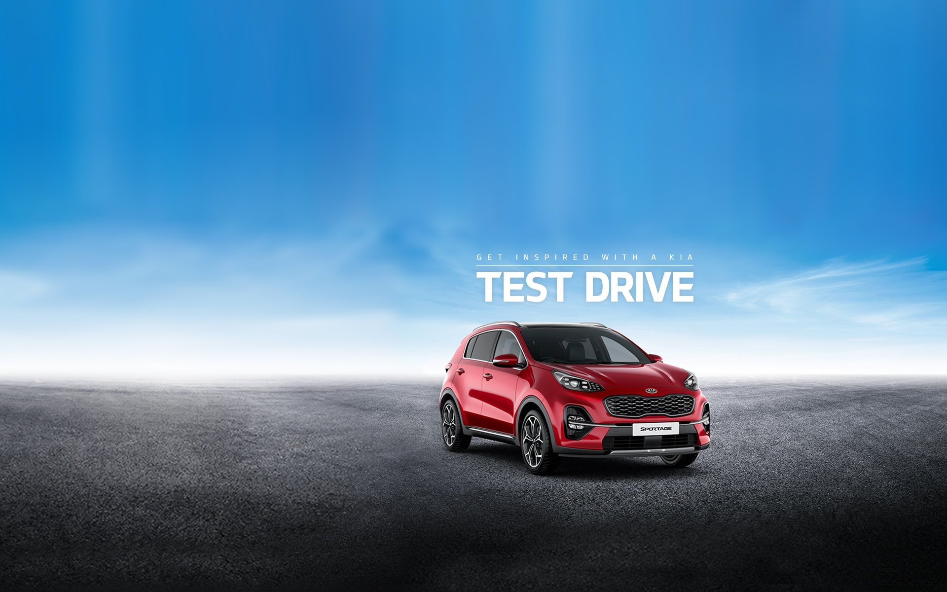 Sportage Test Drive Offer