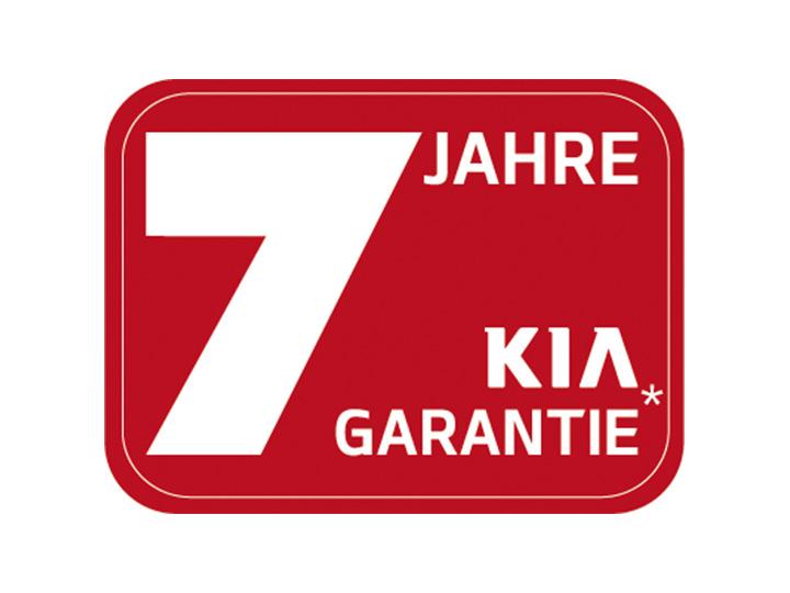 Kia 7 jahre garantie worauf