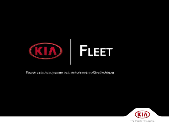 Brochure Kia Fleet