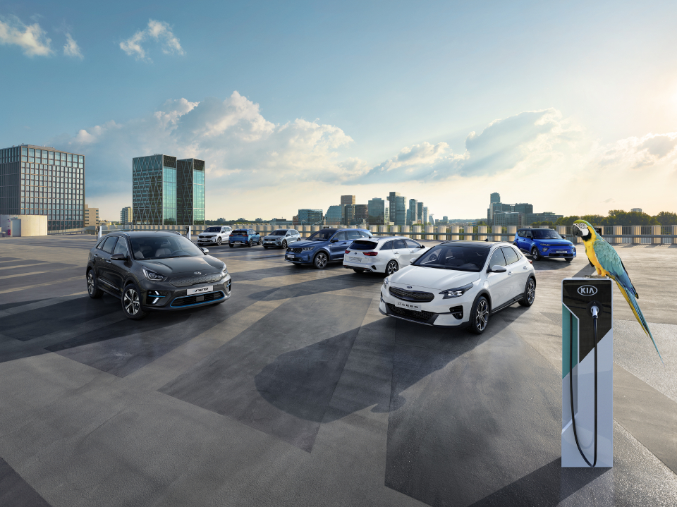 Kia electrification
