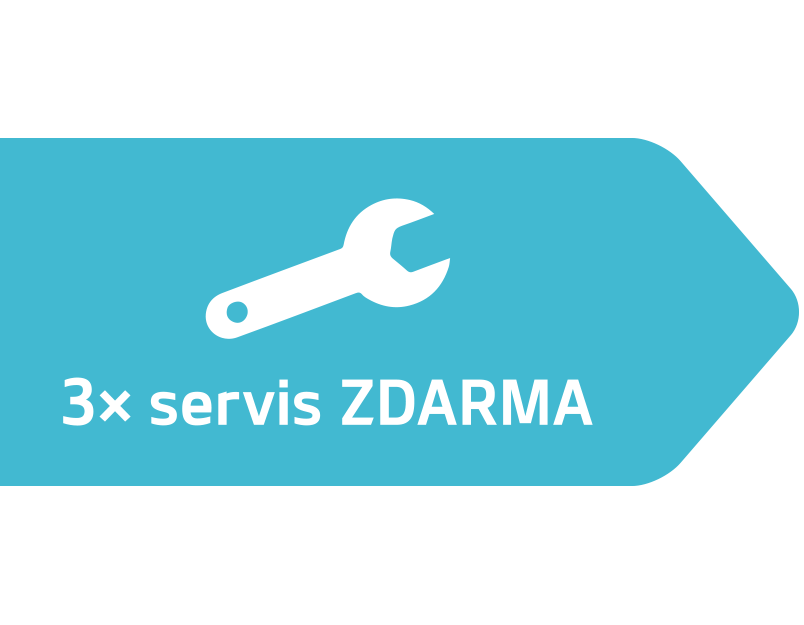 Program 3x Servis zdarma