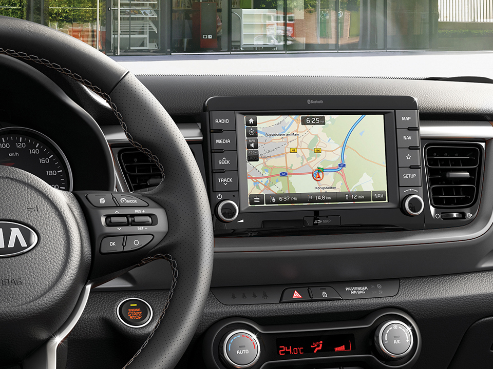 "Kia Stonic 7"" display"