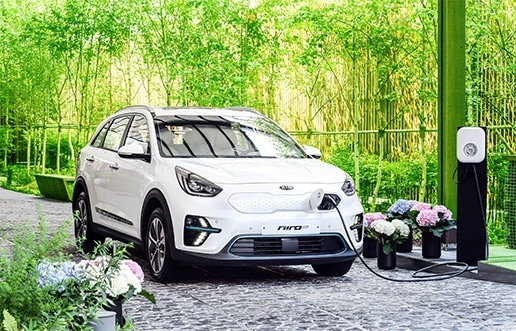 Kia Niro Ladestation