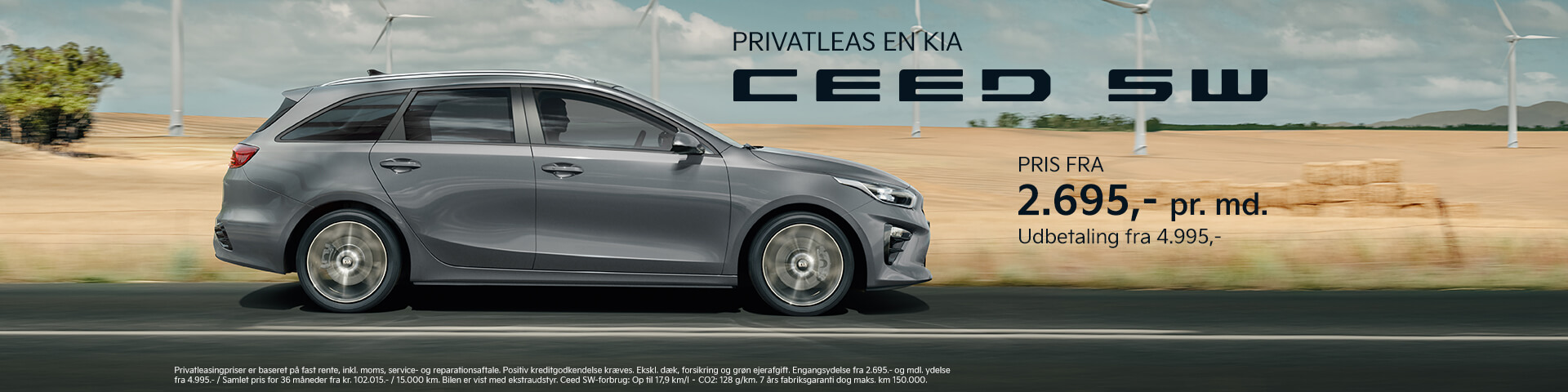 Kia privatleasing – Ceed SW