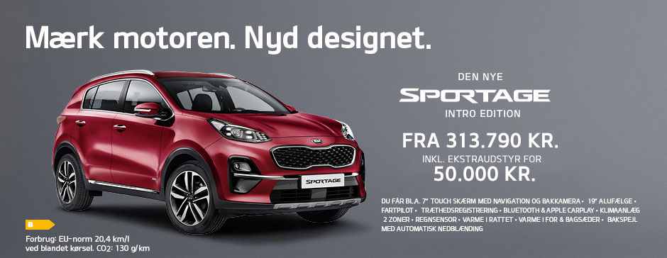 KIA Sportage Intro Edition