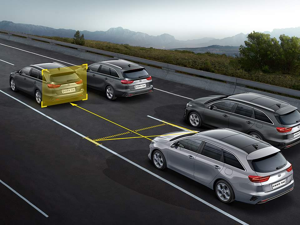 KIA Ceed Sportswagon–  Lane Following Assist