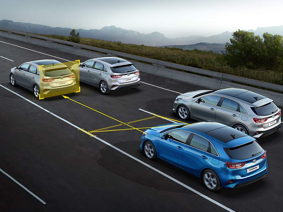KIA Ceed – Lane Following Assist