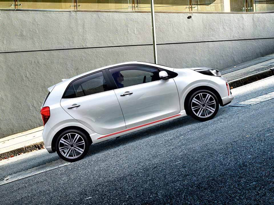 KIA Picanto – Hill-start Assist Control