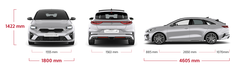 Kia ProCeed specification