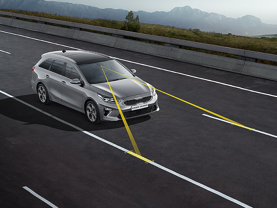 kia ceed sportswagon lane keeping assist system