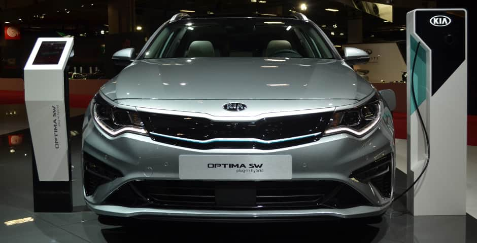 Paris Motor Show 2018 Optima SW PHEV